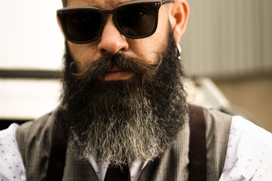 How to Train Your Beard to Grow in a Certain Direction