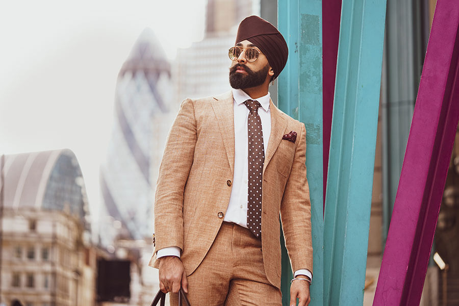 How to Match your Turban to your Outfit