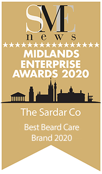 the sardar co - best beard care brand 2020 award