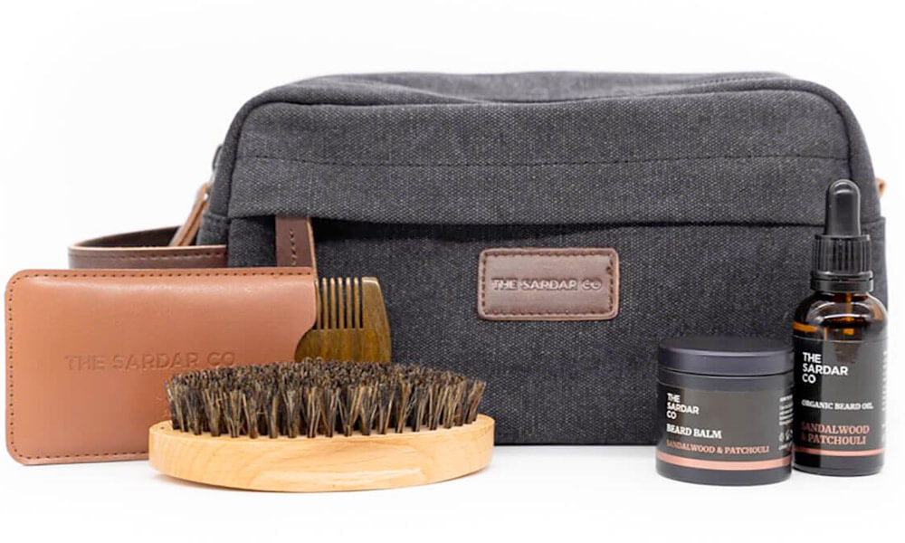 beard care travel kit gift idea