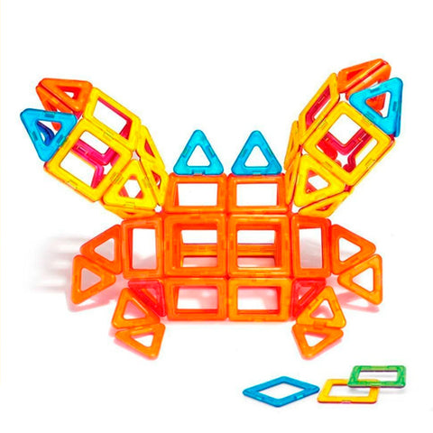 Mr Crab - Magnees™ - The Amazing Magnetic Blocks for All ages - Set Of 40