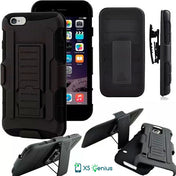 XS Genius™ Heavy Duty - Hard Case For iPhone 8 / 8 plus With Belt Clip