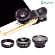 XS Genius™ - The 3-in-1 Universal Mobile Phone Lens Kit