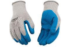 Kinco Poly-Cotton Knit Shell & Latex Palm Glove (1791)
