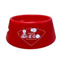 Load image into Gallery viewer, silipint ricochet red folding dog bowl