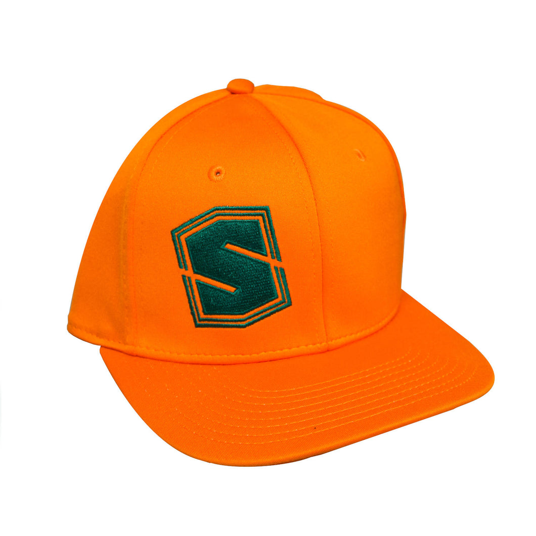 STI Stretch-Fit Hat - Orange