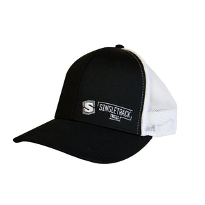 STT Snapback Hat - Black & White