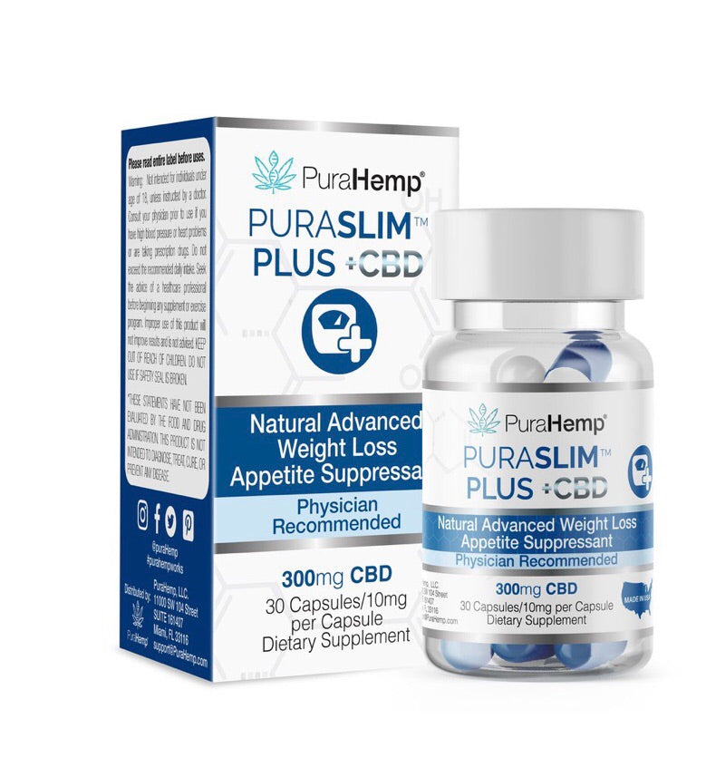 CBD Capsules Weight Loss Support