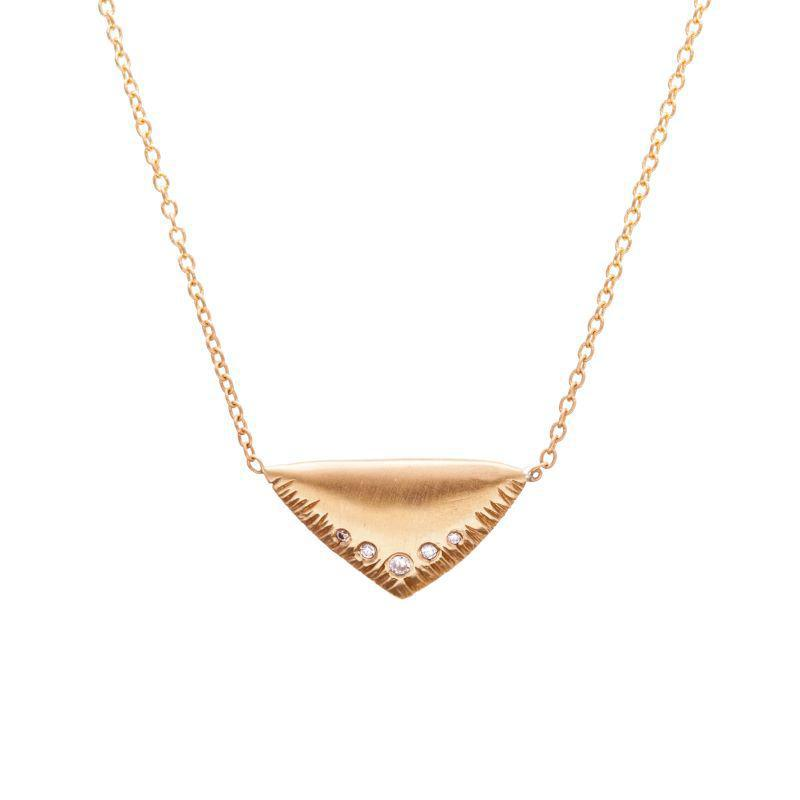 Triangle Wing Necklace