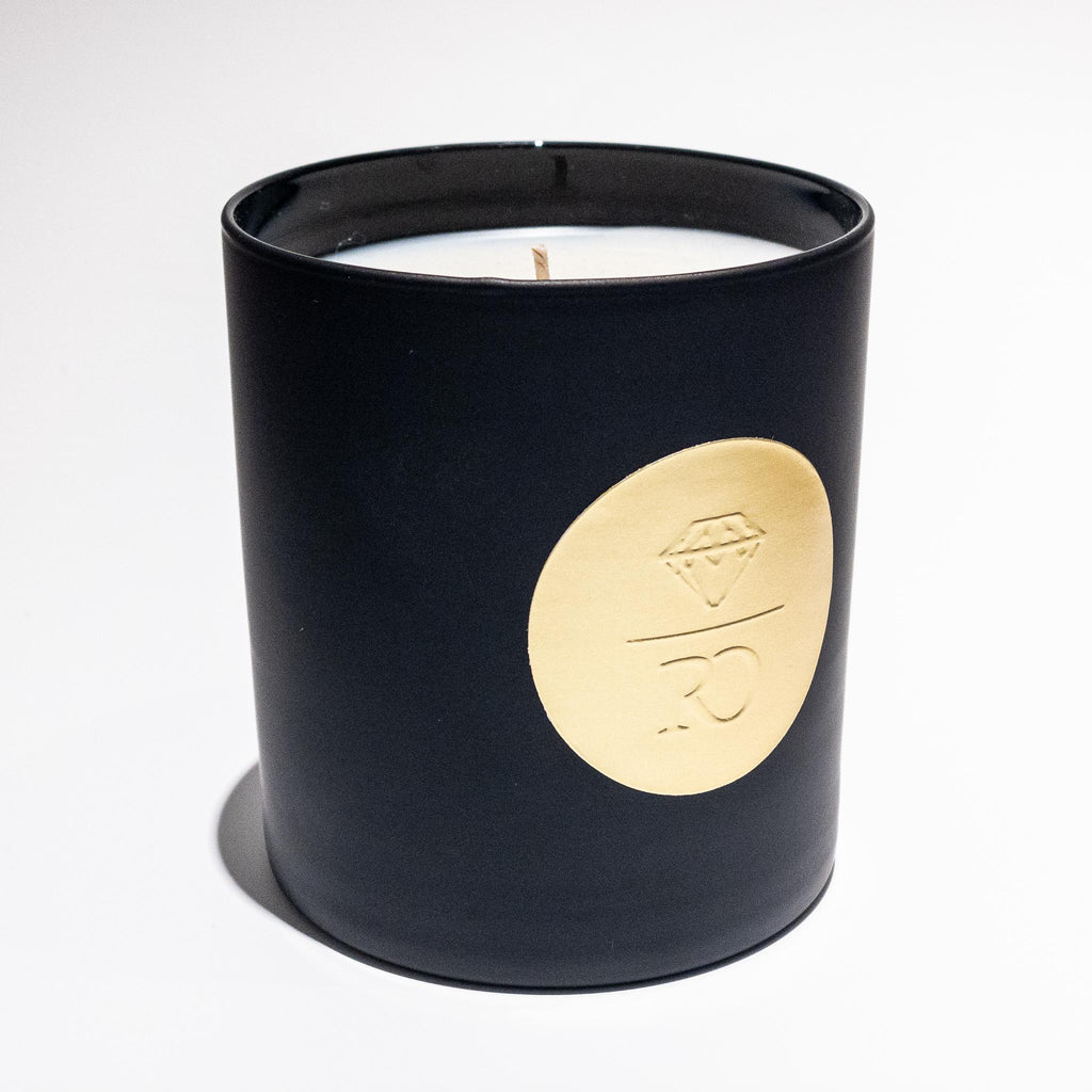 Rebecca Overmann Signature Candle - Black