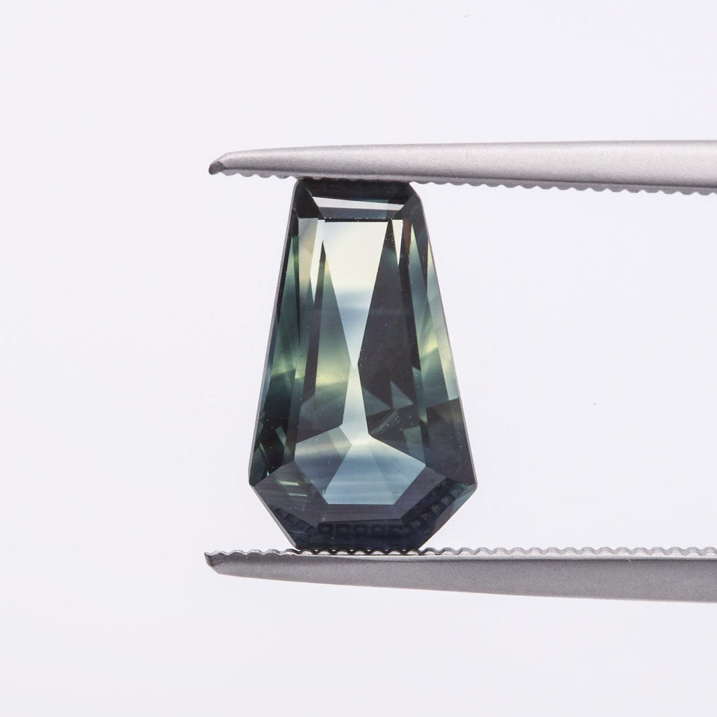 The Monet (2.36ct Geometric Cut Sapphire)