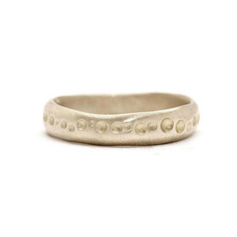 Women's Crater Line Ring