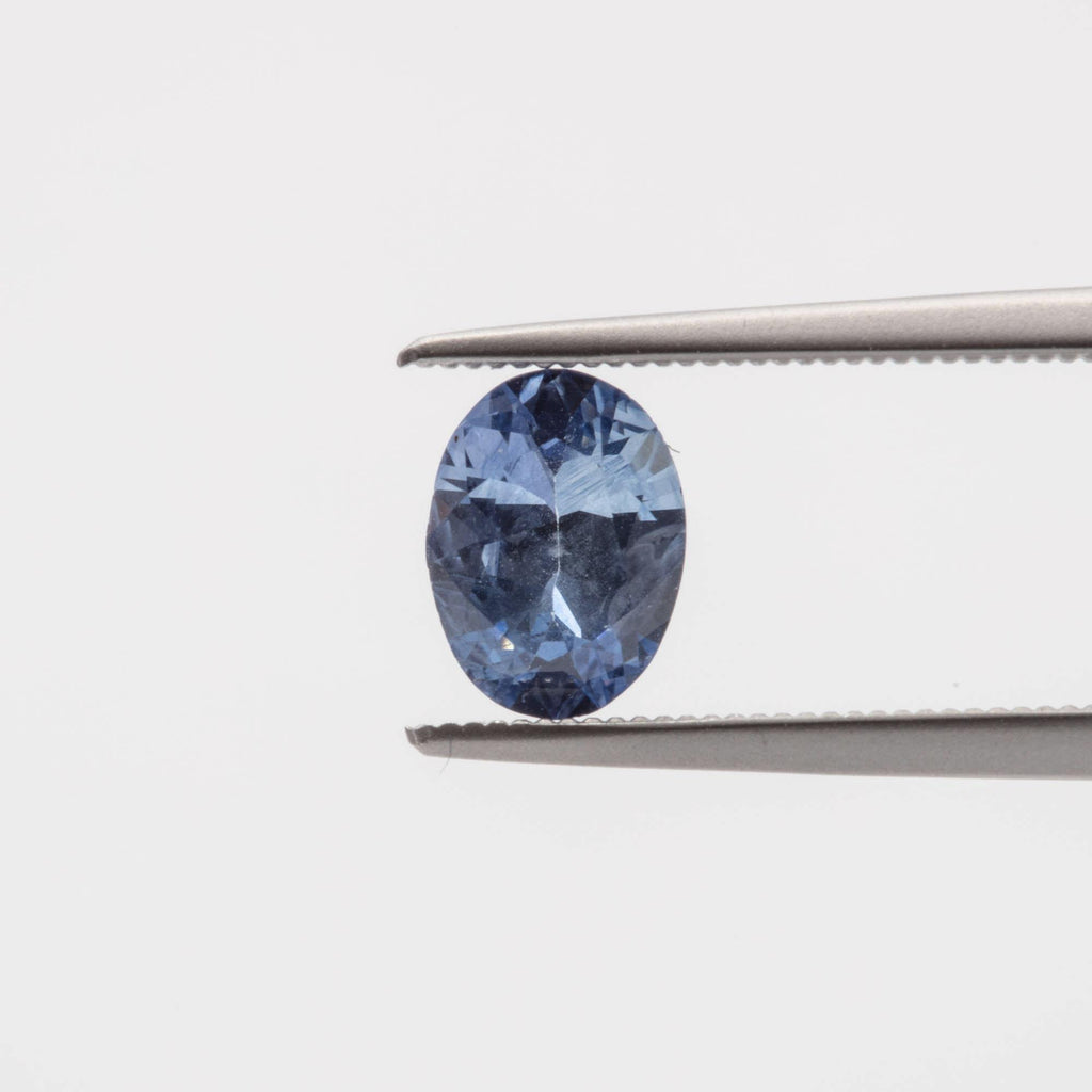 The Starry Sky (.89ct Oval Cut Sapphire)