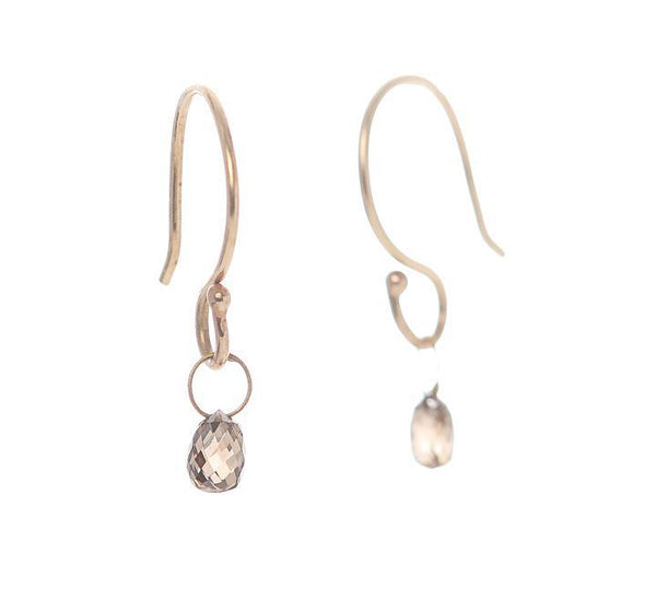 Champagne Briolette Earrings