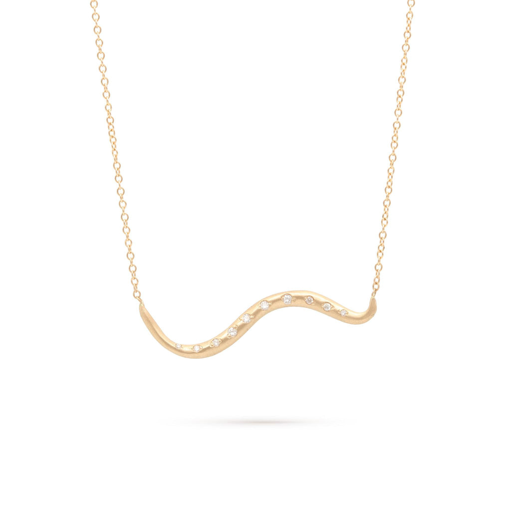 Slithering Snake Necklace