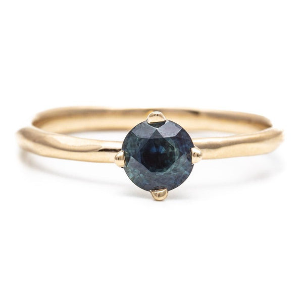 Sapphire Prong Water Ring
