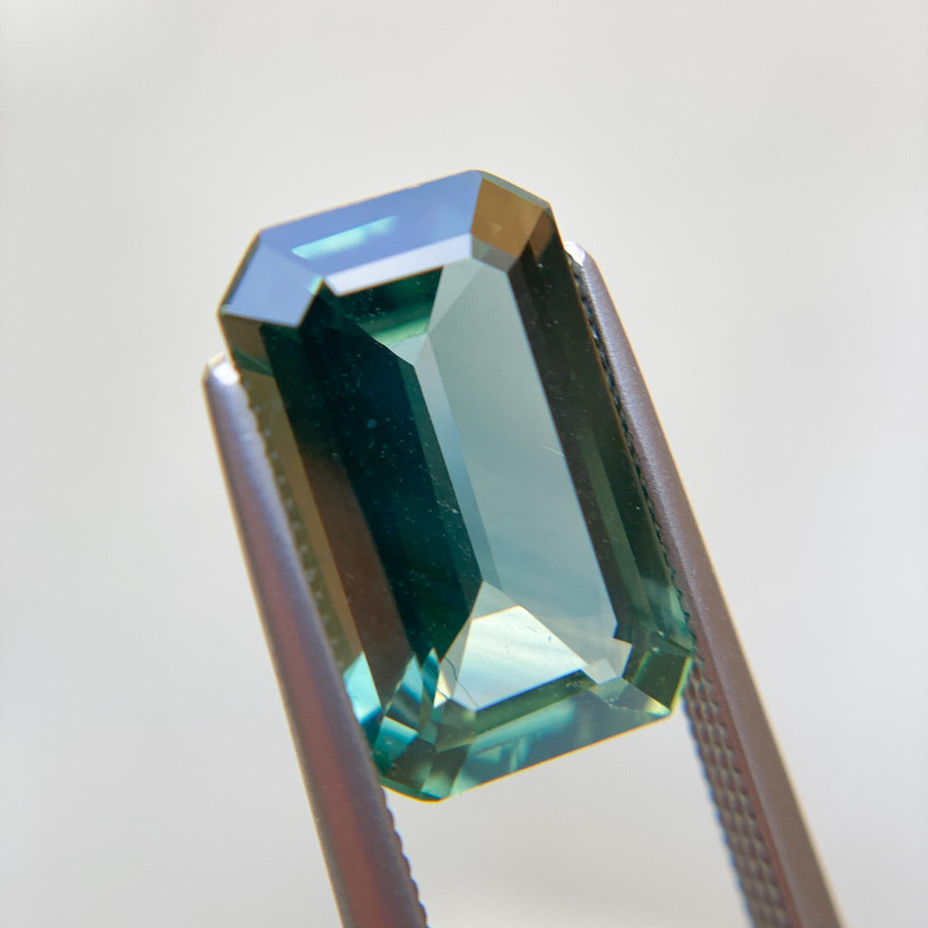 The Emerald City (4.5ct Emerald Cut Sapphire)
