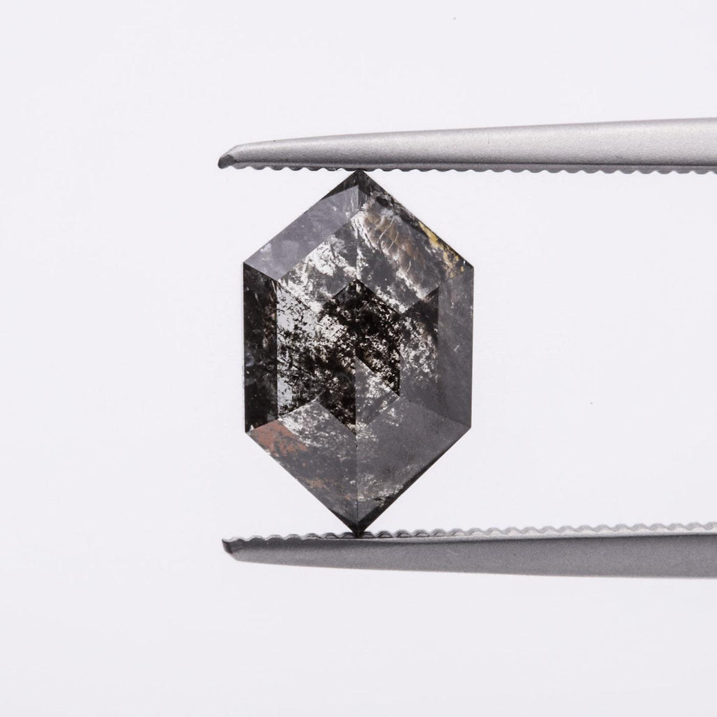 The Headliner (1.77ct Rose Cut Hexagon Diamond)