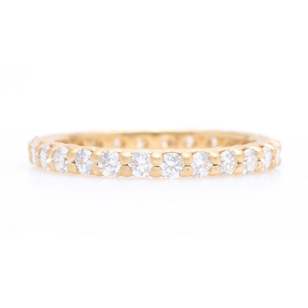 Diamond Eternity Prong Ring