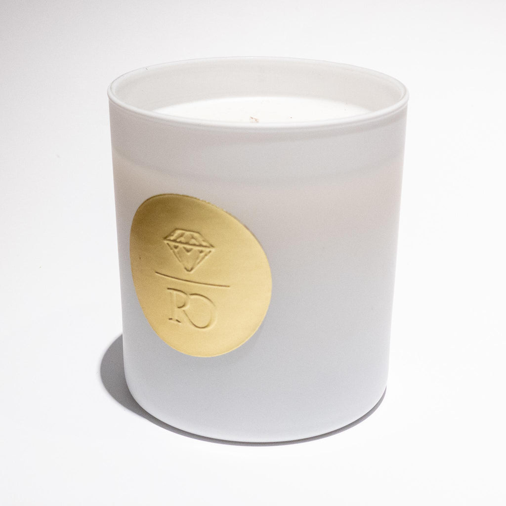 Rebecca Overmann Signature Candle - White