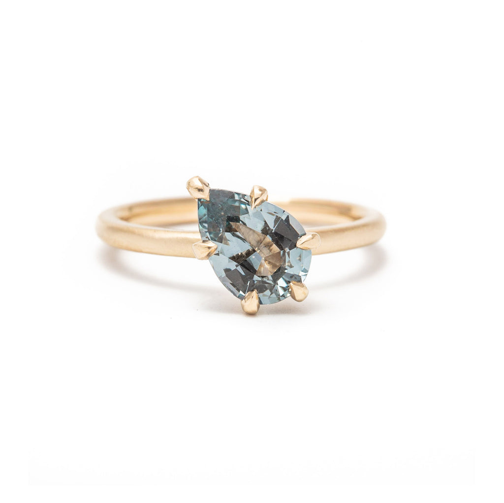 Six Prong Spinel Ring