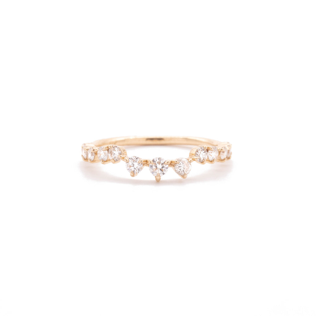 Nesting Diamond Crown Band