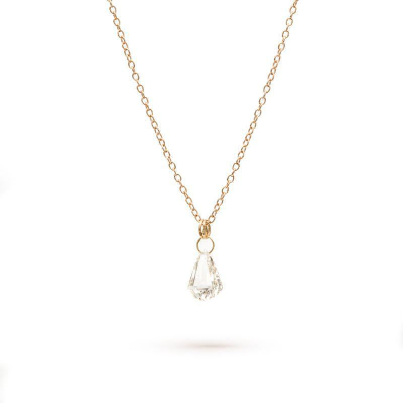 Fancy Faceted Brio Necklace