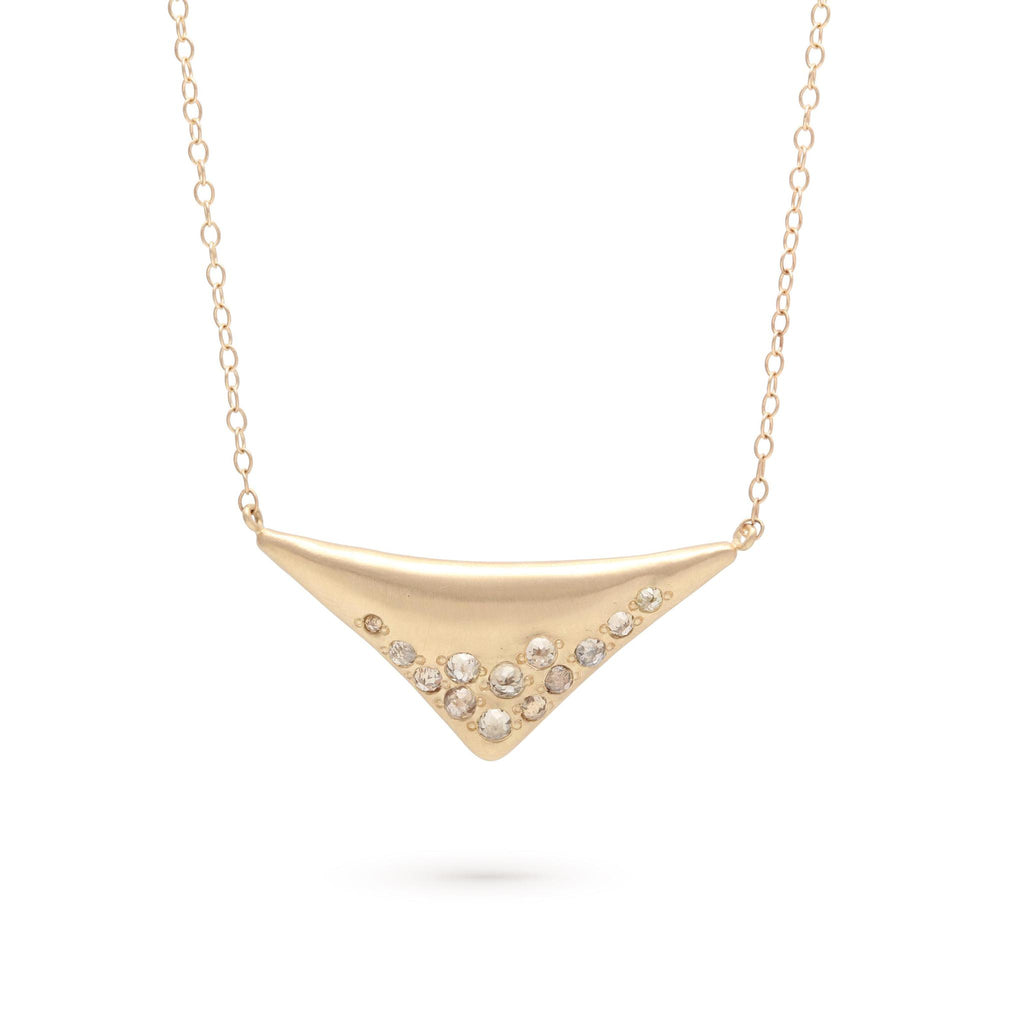Ombré Triangle Necklace
