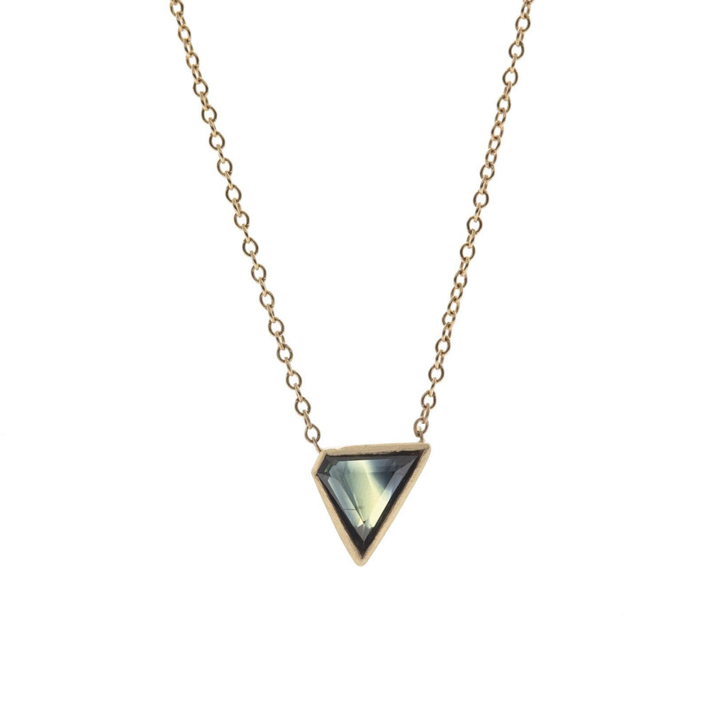 Missing Point Australian Sapphire Necklace