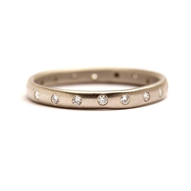 Half Round Eternity Band