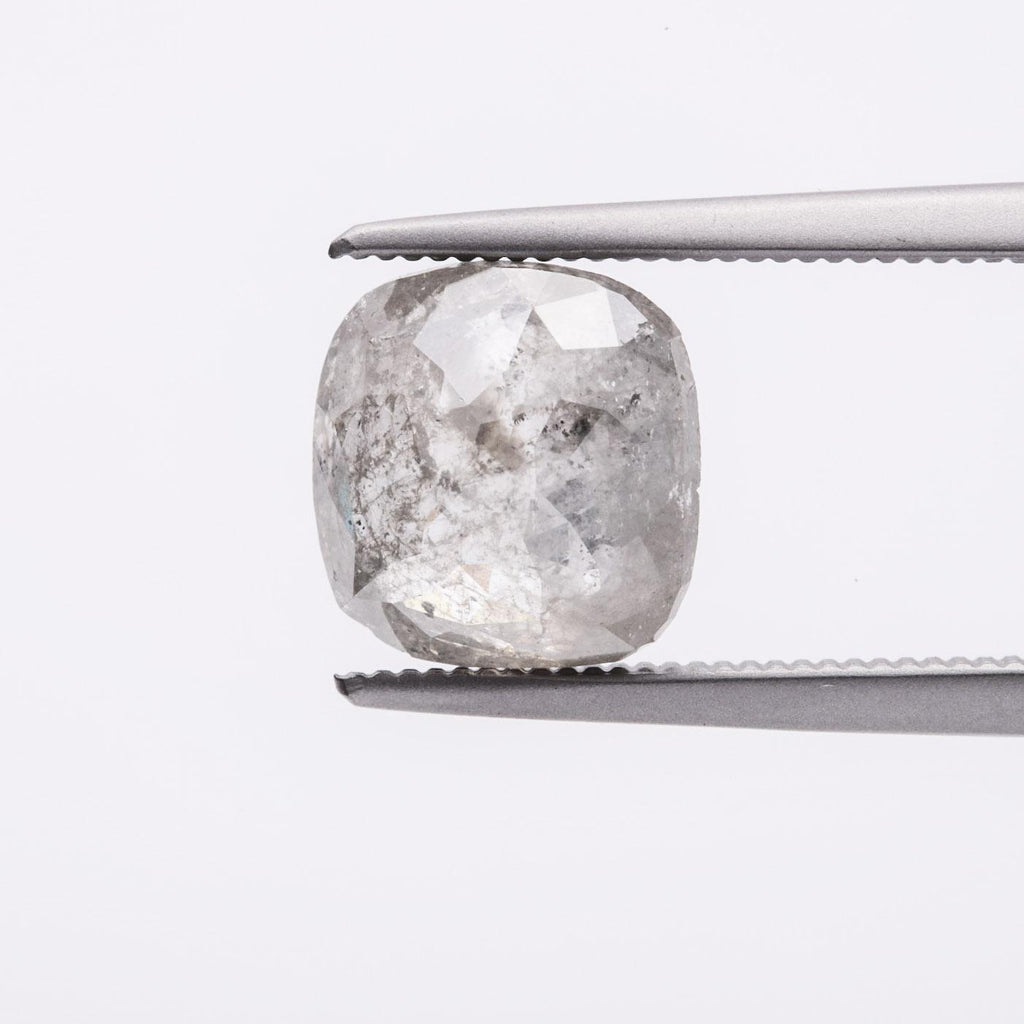 The Celeste (2.13ct Rose Cut Cushion Diamond)