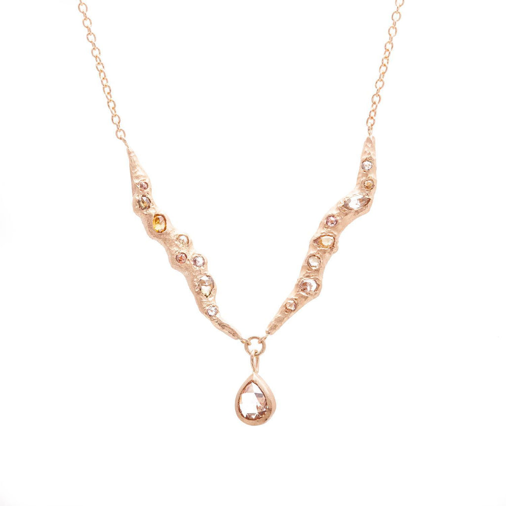 Summer Storm Diamond Necklace