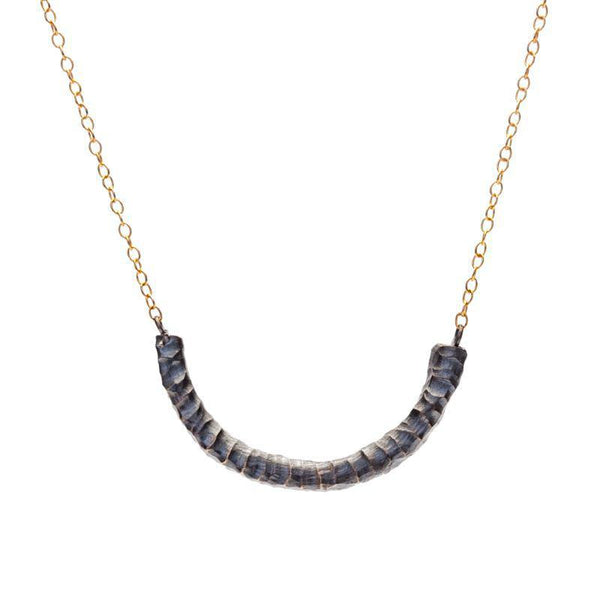 Two-Tone Rattle Snake Necklace