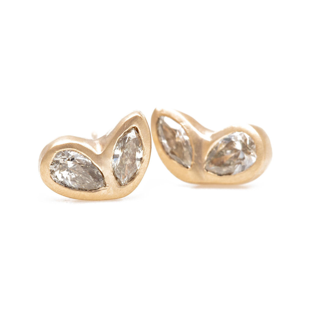 Wing Diamond Studs