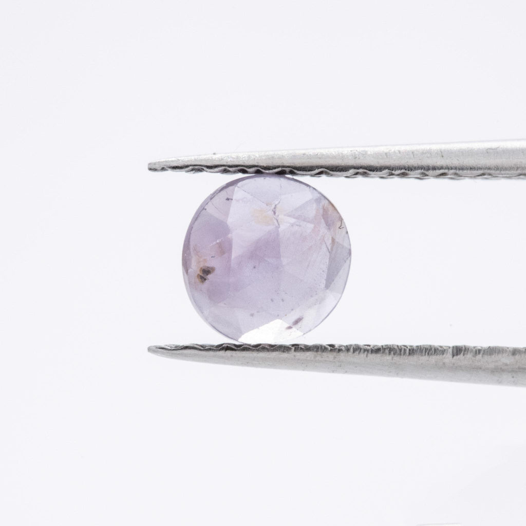 The Spring Violets (1.045ct Round Rose Cut Sapphire)