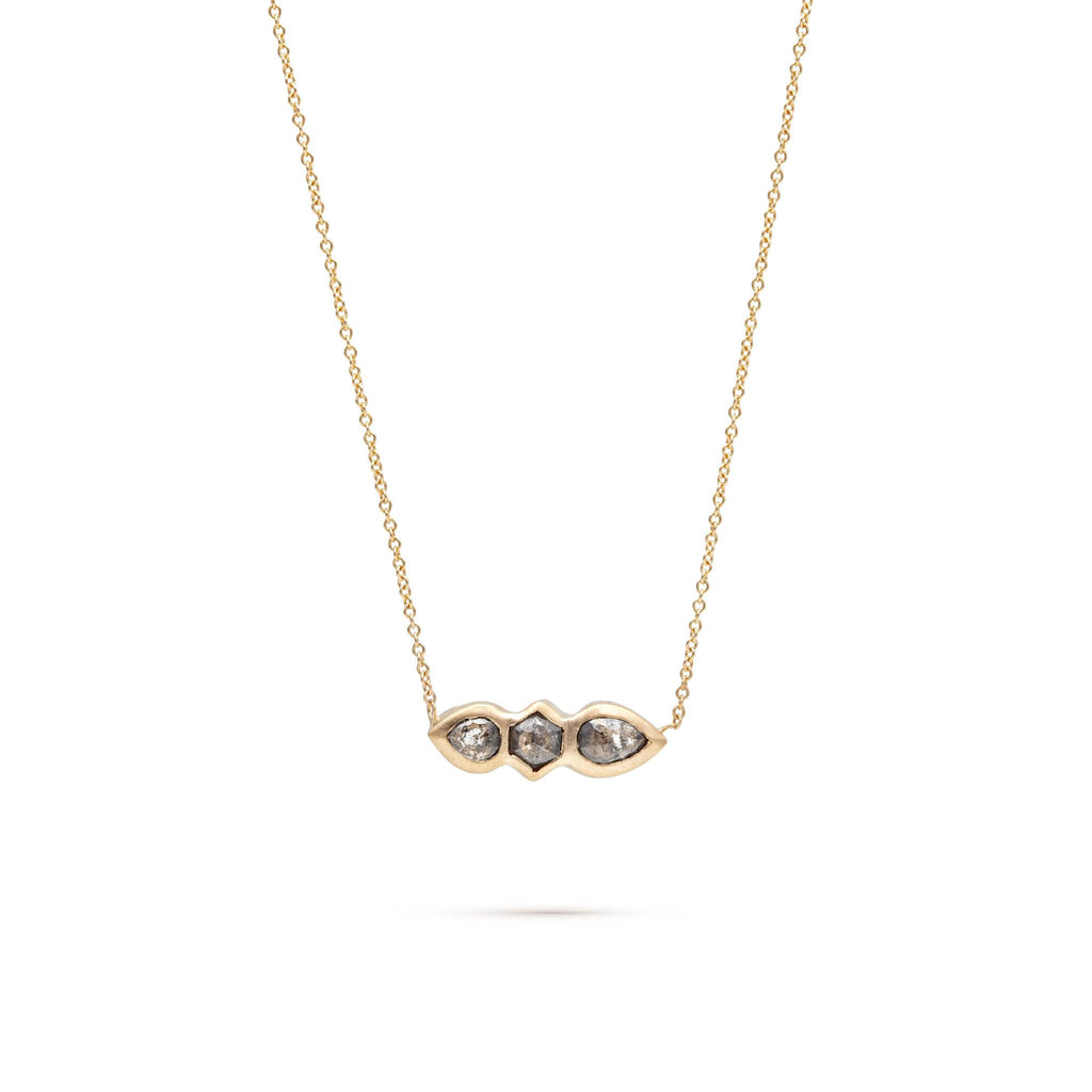 Totem Diamond Necklace