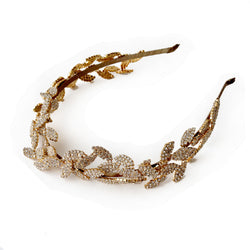OLIVE BRANCH CRYSTAL HEADBAND