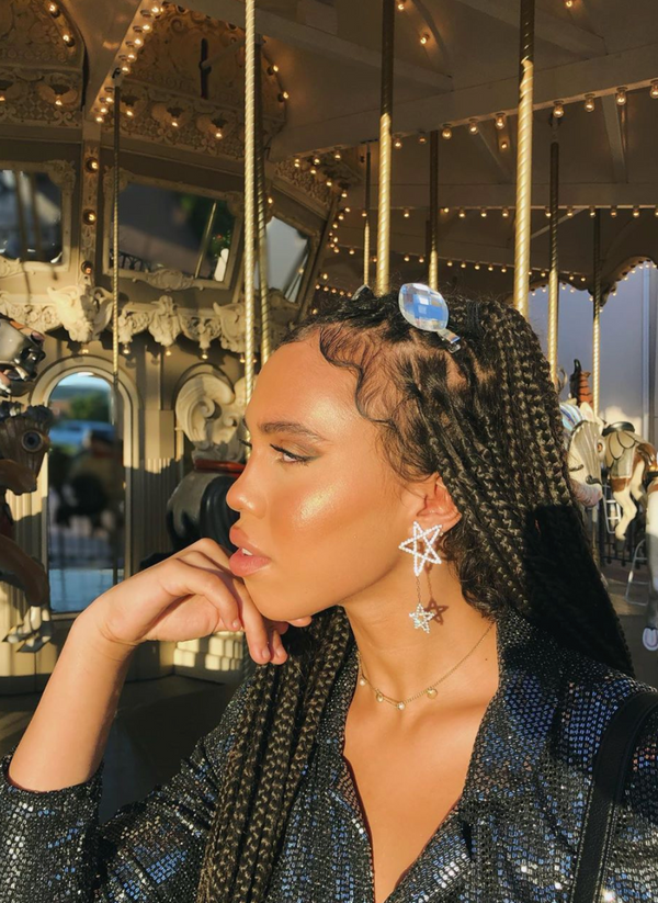 Seeing Stars Drop Earrings