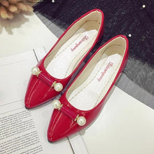 Load image into Gallery viewer, xiniu 2018 New Arrival Casual Fashion Ladie Casual Pregnant Women Shoes Pearl Breathable Flat Shoes Korean shoes Women Shoes