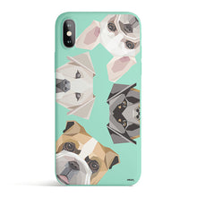 Load image into Gallery viewer, Dogs With Attitudes - Colored Candy Matte TPU iPhone Case Cover