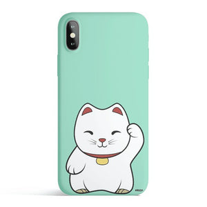 Maneki Neko - Colored Candy Matte TPU iPhone Case Cover