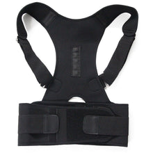 Load image into Gallery viewer, Magnetic Therapy Posture Corrector Brace shoulder support strap for men women orthosis and supports shoulder belt posture