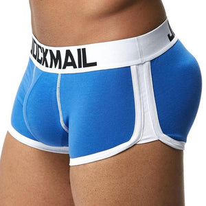 Male U convex Cup Padded Boxer Briefs Man's Enchancer Underpants