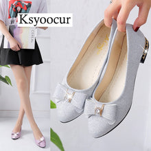Load image into Gallery viewer, Brand Ksyoocur 2018 New Ladies Flat Shoes Casual Women Shoes Comfortable Pointed Toe Flat Shoes Spring/autumn Women Shoes 18-030