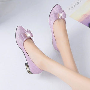 Brand Ksyoocur 2018 New Ladies Flat Shoes Casual Women Shoes Comfortable Pointed Toe Flat Shoes Spring/autumn Women Shoes 18-030