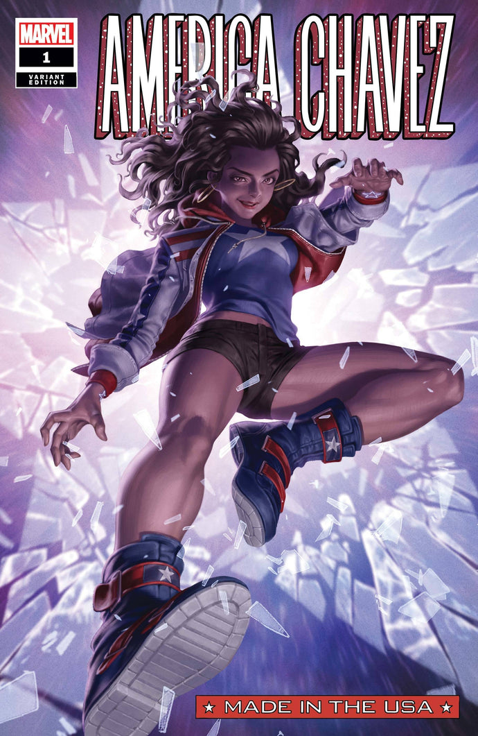 America Chavez: Made in the USA #1 Jung-Geun Yoon Variant (2021)