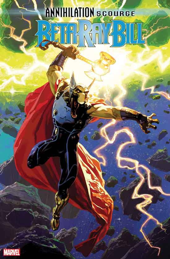 Annihilation Scourge: Beta Ray Bill #1 J. Casanovas Variant (2019)