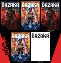 Load image into Gallery viewer, BRZRKR #1 • 5 Book Bundle A-E • Pre-Sale
