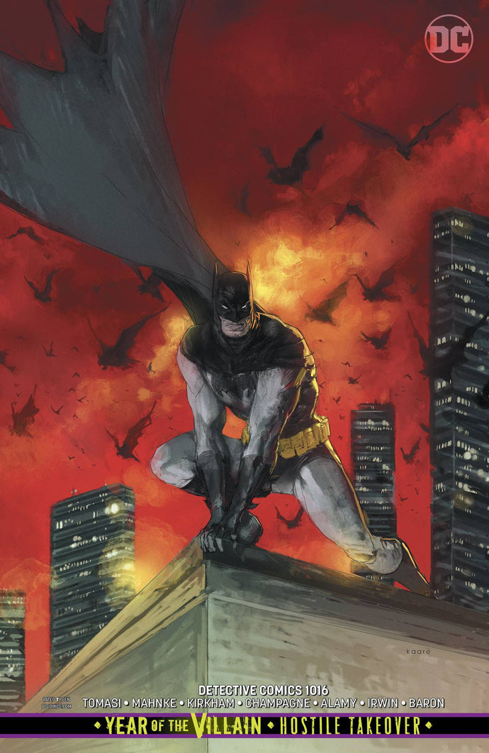 Detective Comics #1016 Andrews Card Stock Variant (2019)