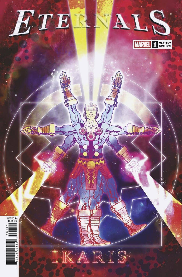 Eternals #1 Superlog Variant (2021)